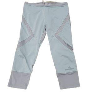 Adidas Stella McCartney sea foam Capri leggings L